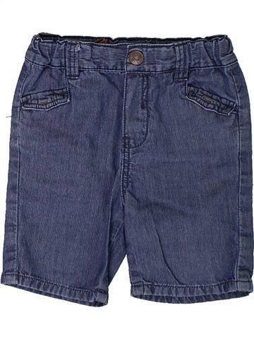 Short - Bermuda garçon OKAIDI bleu 18 mois été #1401848_1