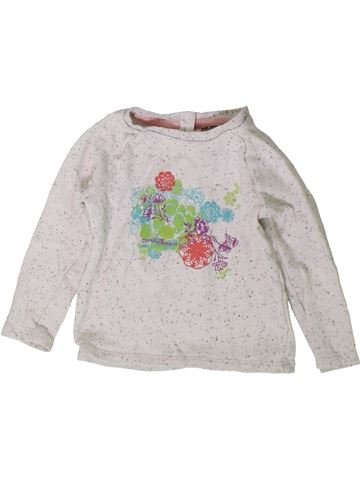 Pull fille ORCHESTRA blanc 2 ans hiver #1401887_1