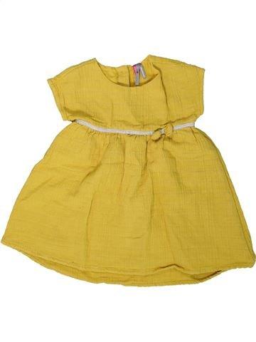 Robe fille ORCHESTRA jaune 2 ans été #1401894_1