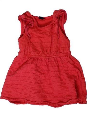 Robe fille KIABI rouge 3 ans été #1401911_1