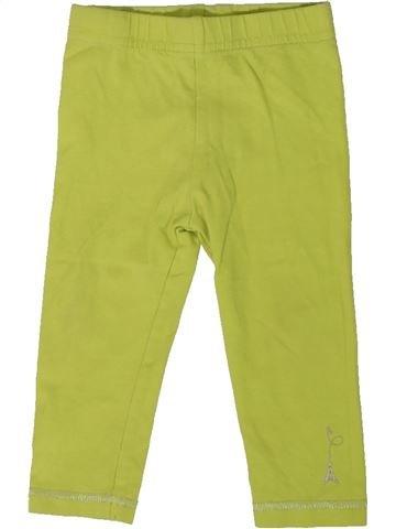 Legging niña ORCHESTRA verde 12 meses invierno #1401916_1