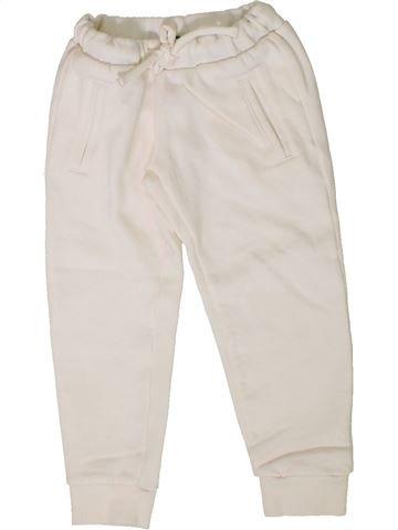Pantalon unisexe BENETTON blanc 4 ans hiver #1402007_1
