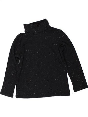 T-shirt col roulé fille MONOPRIX noir 4 ans hiver #1402008_1