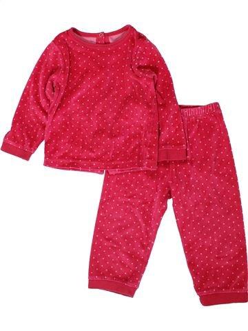 Pijama de 2 piezas niña 3 SUISSES rosa 2 años invierno #1402013_1