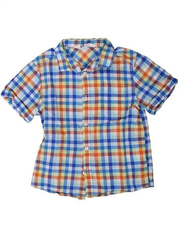 Camisa de manga corta niño H&M gris 5 años verano #1402024_1