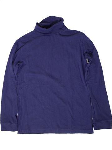 T-shirt col roulé fille MONOPRIX bleu 12 ans hiver #1402053_1