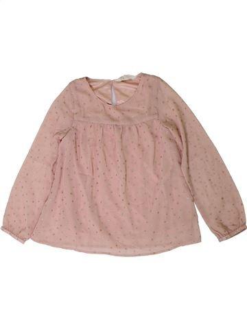 Blusa de manga larga niña H&M rosa 8 años invierno #1402054_1