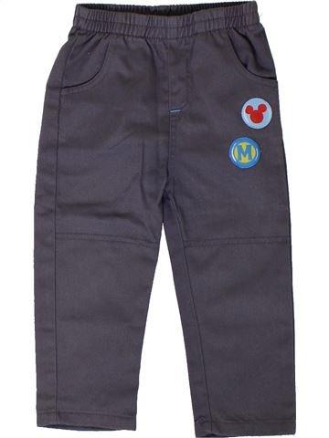 Pantalón niño DISNEY gris 2 años invierno #1402081_1