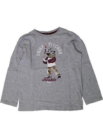T-shirt manches longues garçon ESPRIT gris 7 ans hiver #1402111_1