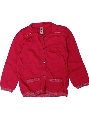 Chaleco niña ORCHESTRA rojo 2 años invierno #1402129_1
