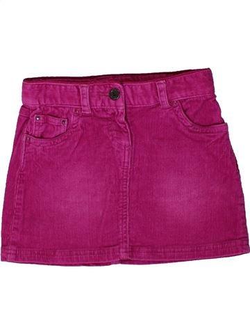 Jupe fille OKAIDI violet 5 ans hiver #1402154_1