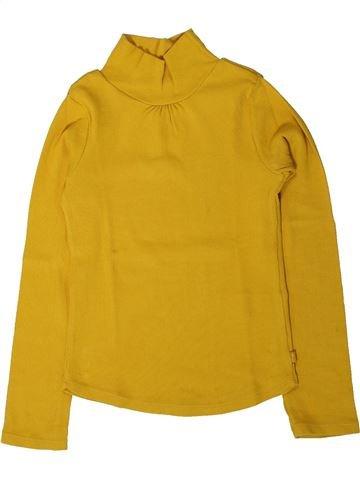 T-shirt manches longues fille OKAIDI jaune 6 ans hiver #1402162_1