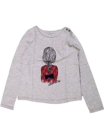 Camiseta de manga larga niña OKAIDI blanco 6 años invierno #1402172_1