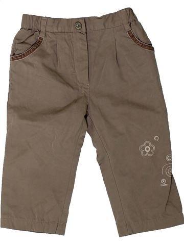Pantalón niña MEXX marrón 12 meses invierno #1402226_1