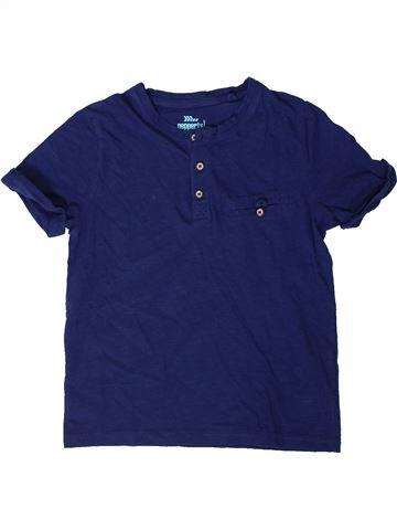 T-shirt manches courtes garçon PEPPERTS bleu 8 ans été #1402235_1