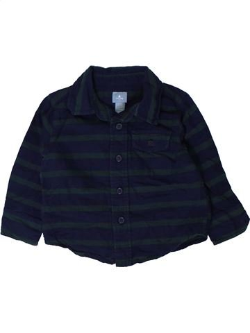 Camisa de manga larga niño GAP negro 18 meses invierno #1402239_1