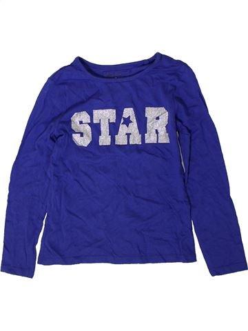 Camiseta de manga larga niña TU azul 7 años invierno #1402254_1