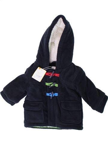 Manteau garçon BLUEZOO noir 6 mois hiver #1402302_1