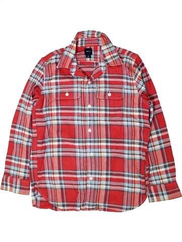 Camisa de manga larga niño GAP marrón 10 años invierno #1402312_1