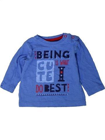 Camiseta de manga larga niño DUNNES STORES azul 6 meses invierno #1402354_1