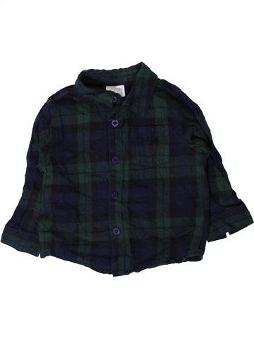 Camisa de manga larga niño F&F negro 12 meses invierno #1402363_1