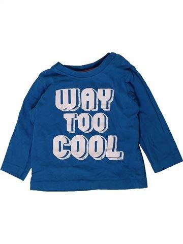 T-shirt manches longues garçon NUTMEG bleu 9 mois hiver #1402366_1