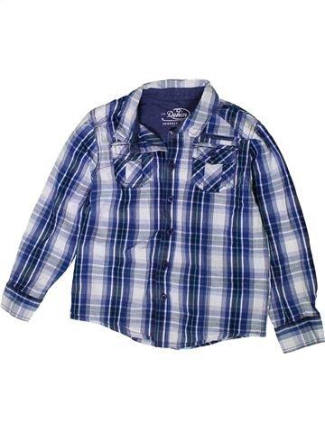 Camisa de manga larga niño F&F azul 6 años invierno #1402369_1