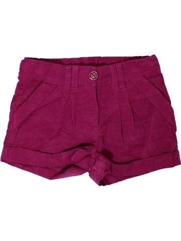 Short - Bermuda fille PRIMARK violet 5 ans hiver #1402410_1