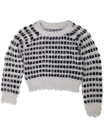 Pull fille DUNNES STORES gris 4 ans hiver #1402433_1