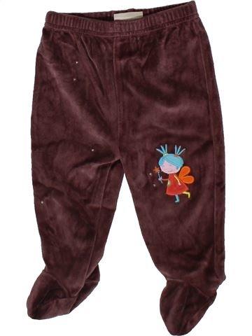 Pantalón niña DPAM marrón 6 meses invierno #1402446_1