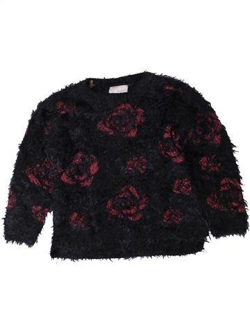 Pull fille I LOVE GIRLSWEAR noir 3 ans hiver #1402473_1