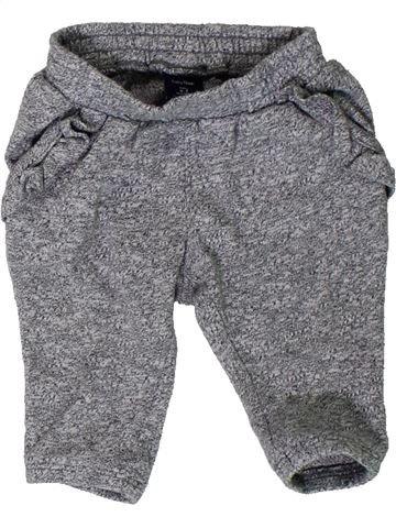 Pantalon fille GAP gris 3 mois hiver #1402481_1