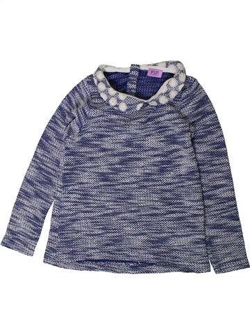 Sudadera niña F&F azul 4 años invierno #1402502_1