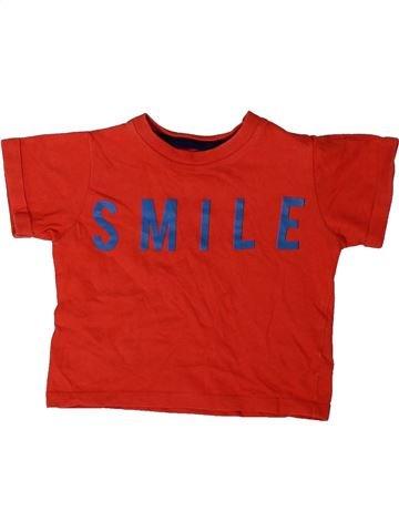 Camiseta de manga corta niño MARKS & SPENCER rojo 9 meses verano #1402535_1