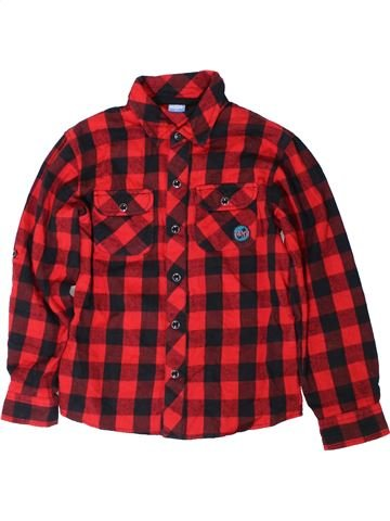 Chemise manches longues garçon KIDS rouge 8 ans hiver #1402560_1