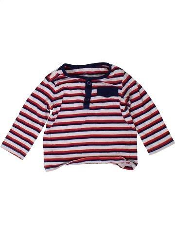 T-shirt manches longues garçon PRIMARK rose 6 mois hiver #1402567_1