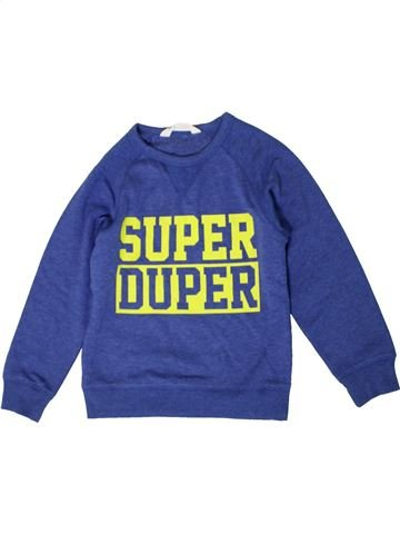 Sweat garçon H&M bleu 8 ans hiver #1402595_1