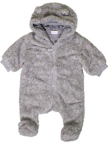 Bata niño F&F gris 1 mes invierno #1402631_1