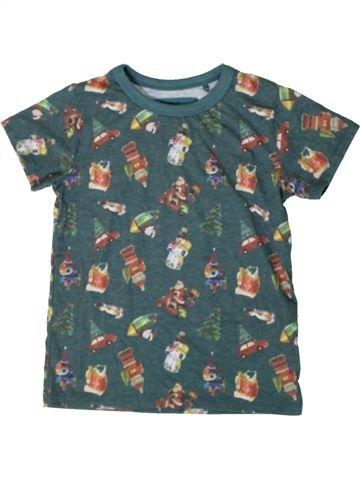 T-shirt manches courtes garçon NEXT vert 4 ans été #1402637_1