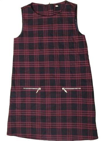 Vestido niña MARKS & SPENCER marrón 10 años invierno #1402782_1