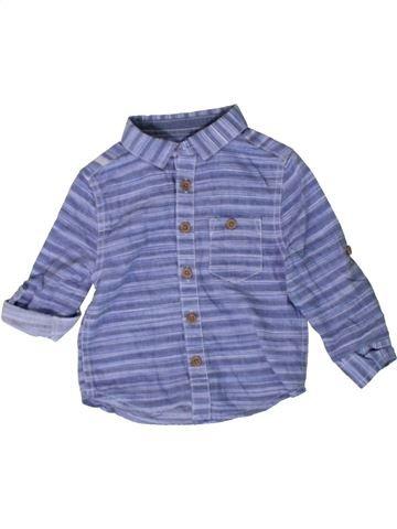 Chemise manches longues garçon PRIMARK violet 18 mois hiver #1402814_1
