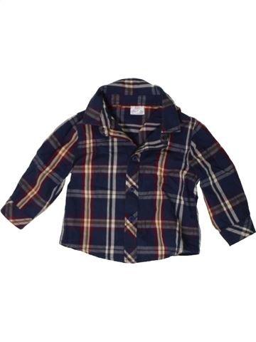 Camisa de manga larga niño F&F negro 6 meses invierno #1402884_1