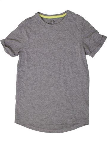Camiseta de manga corta niño TU gris 11 años verano #1402913_1
