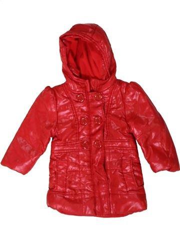 Abrigo niña PRIMARK rojo 12 meses invierno #1402954_1