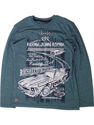 T-shirt manches longues garçon JOHN ROCHA bleu 10 ans hiver #1403050_1