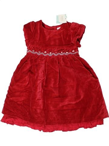 Robe fille M&CO rouge 18 mois hiver #1403204_1