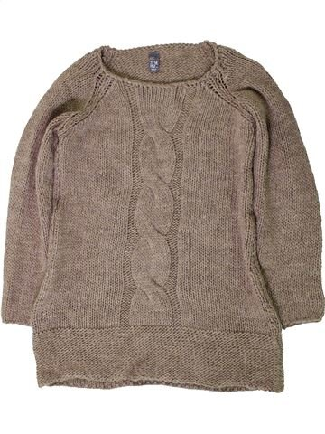 Pull fille ZARA gris 12 ans hiver #1403246_1