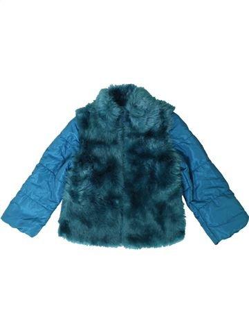 Manteau fille M&CO bleu 4 ans hiver #1403267_1