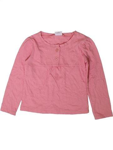 T-shirt manches longues fille NEXT rose 3 ans hiver #1403307_1