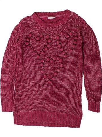 Pull fille I LOVE GIRLSWEAR violet 9 ans hiver #1403338_1